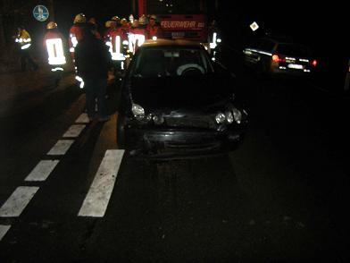 Verkehrsunfall Neumarkhausen